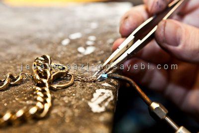 ساخت طلا و جواهر